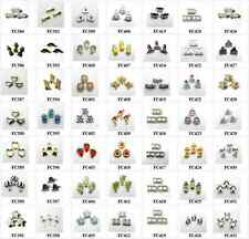 10pcs mixed Floating Charms locket charms for floating memory locket FC384-FC432