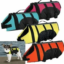 Dog Life Jacket for Dogs Pet Preserver Coat Reflective Safety Vest Guardian Gear