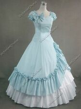 Southern Belle Party Gown Victorian Dress Theatre Women's Halloween Costume 208