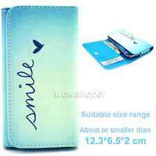 Purse Wallet g21 PU Leather Flip Card Case Cover For Multi Samsung Galaxy Model