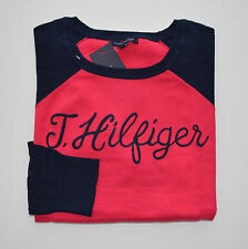 NWT Women's Tommy Hilfiger V-Neck Pullover Sweater Pink, Blue XS S M L XL