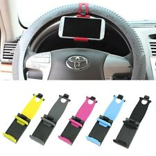 Car Steering Wheel Mount Holder Rubber Band For Andriod Smart Phone MP4 GPS iPod
