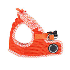 Dog Puppy Harness Soft Vest- Puppia - Vivien - Orange - Choose Size