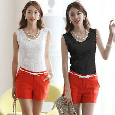 New Sexy Women Summer Tank Sleeveless Knitted Sexy Tops T Shirt Blouse Vest