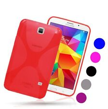 X TPU Gel Case Silicone Skin Back Cover For Samsung Galaxy Tab 4 7.0 T230 T231