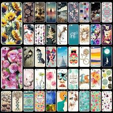 Cute Fashion Pattern Hard Back Skin Case Cover For iPhone 4 4S 5 5S 5C 6 6 Plus