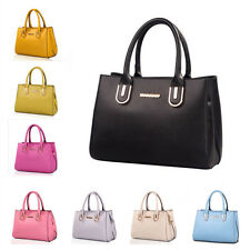 Ladies Women's New Fashion Tote Pu Leather Messenger Handbag Shoulder Bag OL Bag