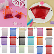 10x15cm Organza Wedding Party Xmas Jewelry Favor Gift Candy Bags Pouches Decor