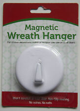 HEAVY DUTY Magnetic Wreath Hanger Rubberized Door Hook ASSORTED COLORS