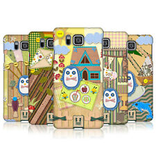 HEAD CASE SCRAPBOOK PENGUIN CASE FÜR SAMSUNG GALAXY ALPHA G850