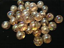 HOM Glass Marbles 22mm Fairy Collectors or traditional game solitair