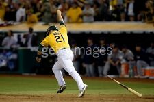 Stephen Vogt Oakland A's 2014 MLB ALDS Action Photo 183201607 (Select Size)