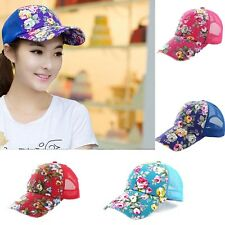 2015 Fashion Baseball Hat Lady Hat Sun Hat Sun Shade Net Outdoor Floral Hat Cap