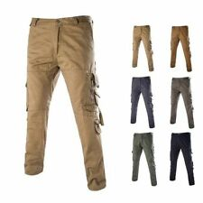 New Men Casual Cargo Work Pants Camo Combat Outdoor Trousers 5 Colors Size 28-38