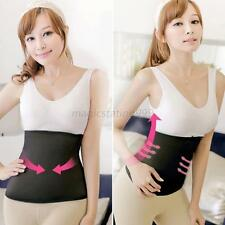 Body Shaper Black Waist Belly Tummy Slimmer Shapewear Cincher Trimmer New