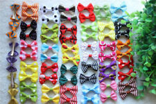 Hot Pet Hair Clips Cute Bowknot Clips Topknot Dog Hair Bows Pet Grooming Product