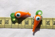 30~35mm x 11~12mm Lampwork  Evil Eye Glass  Pendants You Choose the Color