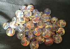 HOM Glass Marbles 16mm Fiesta Collectors or traditional game solitair