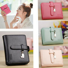 Fashion Lady Women Cute Purse Clutch Wallet Short Small Bag Leather Card Holder