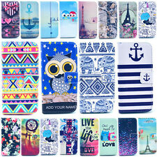 For LG G4 / G3 / G2 / G2 mini  Fashion Pattern Stand Wallet Leather Case Cover