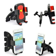 For iPod iPhone Android Phone GPS 360 Car Auto CD Slot Mount Cradle Holder Stand