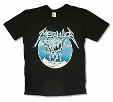 """METALLICA """"ICE"""" SKULL IMAGE BLACK T SHIRT NEW OFFICIAL ADULT"""