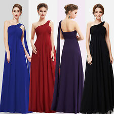 Ever Pretty Women One Shoulder Long Bridesmaid Party Evening Prom Dress 09816