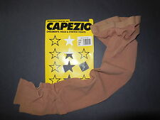 NWT Capezio 145 145C Stirrup Tights Child/Adult Sun Hold & Stretch Lycra Suntan