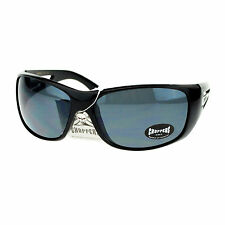 Choppers Bikers Mens Sunglasses Wrap Around Oval Rectangular Frame