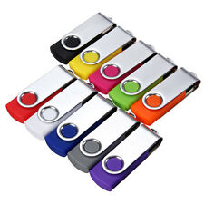 64MB - 16GB USB 2.0 Swivel Flash Memory Stick Pen Drive Storage Thumb U Disk
