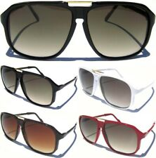 AVIATOR SUNGLASSES Retro Vintage Inspired Gradient Lens Sunnies Choose Frame NEW