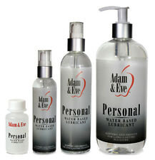Adam & Eve Personal Water Based Lubricant - All Sizes
