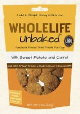 WholeLife SWEET POTATO & CARROT Unbaked Dog Treats 2.3 oz Freeze Dried