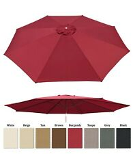 13ft Patio Umbrella Cover Canopy 8 Rib Replacement Top Outdoor