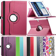 """For Samsung Galaxy Tab 3 10.1"""" 360 Rotating PU Leather Case Cover P5200 P5210"""