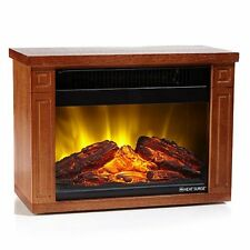 Brand New in Box 1 Year Warranty Heat Surge Fireplace MV-2 Mini Glo Portable