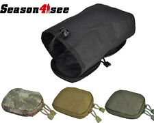 Outdoor Tactical Airsoft Molle Utility Stealth Magazine Dump Drop Pouch Bag Case
