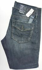NWT $95 Silver ZAC Relaxed Fit M4401BC373 JEANS MENS 30 X 32 Blue Indigo NEW
