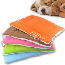 S-XL Velvet Puppy Cat Dog Couch Pet Mat Kennel Soft Bed Cozy Blanket Free-ship