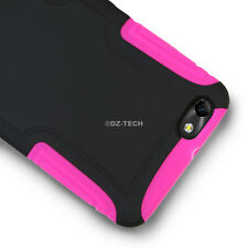For Straight Talk Huawei Raven LTE H892L Rubberized Slim Shockproof Armor Case