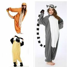 HOT SALE Unisex Adult Animal Onesies Kigurumi Pyjamas Sleepsuit Costume 3style