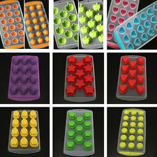 Silicone Chocolate Ice Cube Freeze Mould Bar Pudding Jelly Mold Trays Maker