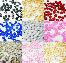 2000 Hearts Diamond Table Confetti Wedding Decoration Scatter 6mm Beads Crystals