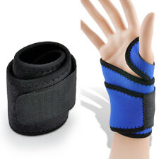 sport Wrist Guard Band Brace Support Carpal Tunnel RSI Pain Wraps Bandage