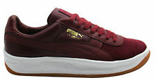 Puma GV Special Exotic Burgundy Leather Mens Tennis Shoes Trainers 357911 04 U1