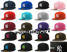 New Era 5950 NY NEW YORK YANKEES (ALL COLOR) CAP MLB Baseball Fitted HAT
