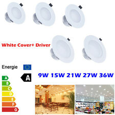 Dimmable 9W 15W 21W 27W 36W Led Ceiling Downlight Fixture Recessed Cabinet Lamp