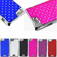 Popular Hard CrystaL Phone Bling Case Cover For Sony Ericsson Xperia J ST26i
