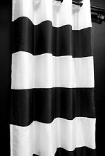 """CJ134-143 ( 1 Panel) 54""""x 84"""",**with thick White Lining**,Stripe Shiny Curtains"""