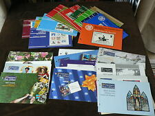 Guernsey Presentation Packs, Various Sold Individually, Mint Stamps, 1975 - 1997